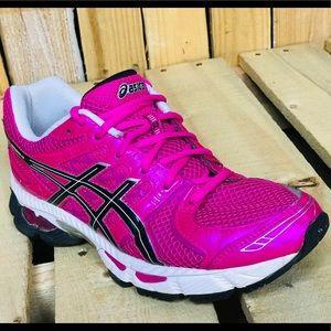 Asics Gel-nimbus 14 Hot Pink Running Sneakers 7
